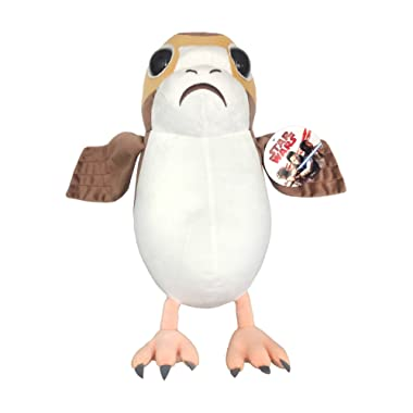 Star Wars Episode 8 Plush Stuffed Porg Pillow Buddy - Kids Super Soft Polyester Microfiber, 16 inch (Official Star Wars Product)