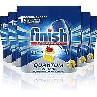 Finish Quantum Ultimate Dishwasher Tablets, Lemon, 50x5 Pack