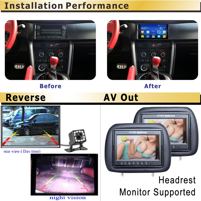 81aYUQ4WgFL._SL1500_ amazon com panlelo android 5 1 car stereo 7 inch 2 din head unit panlelo wiring diagram at creativeand.co