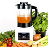 Duronic BL89 Blender chauffant 1,75 l - Fonctions soupe crémeuse/moulinée, cuisson vapeur, réchauffer, mixage, smoothie
