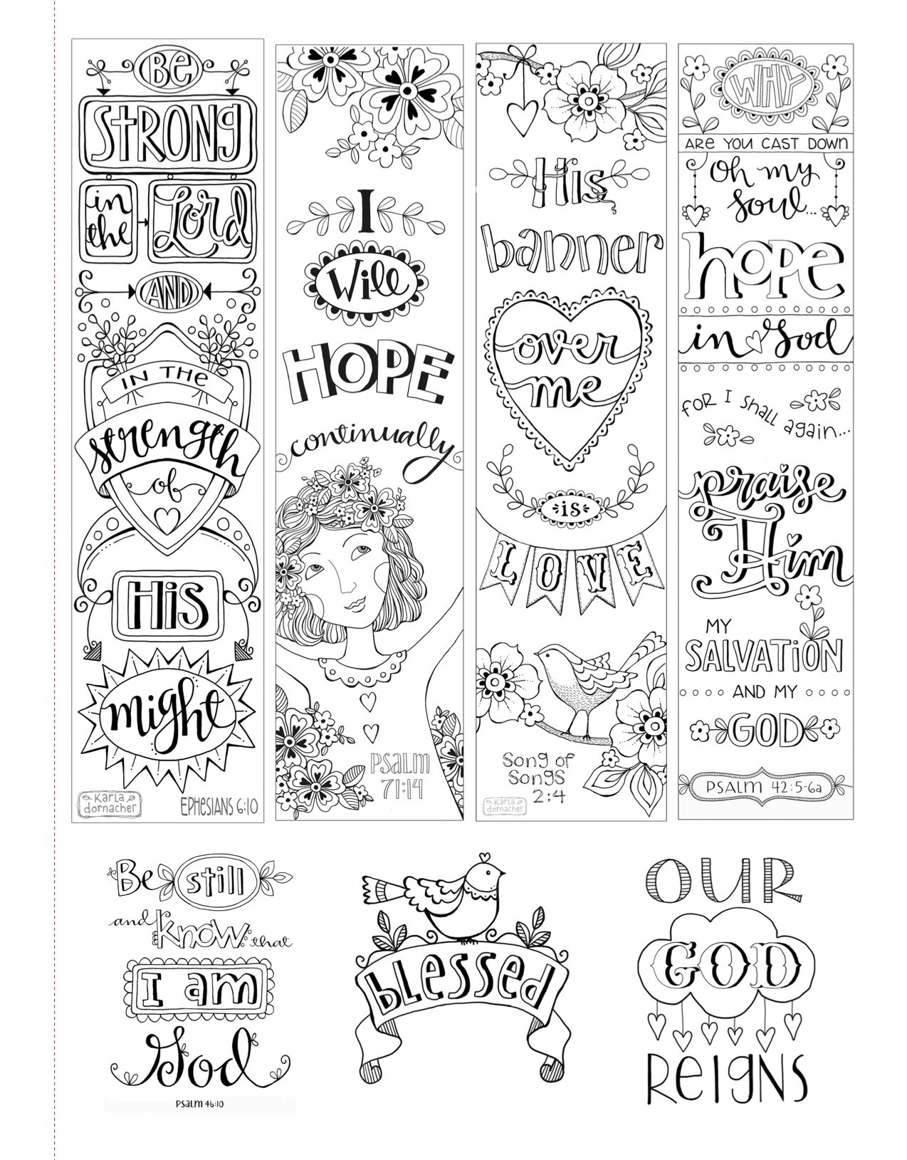 Bible Journaling Everlasting Hope