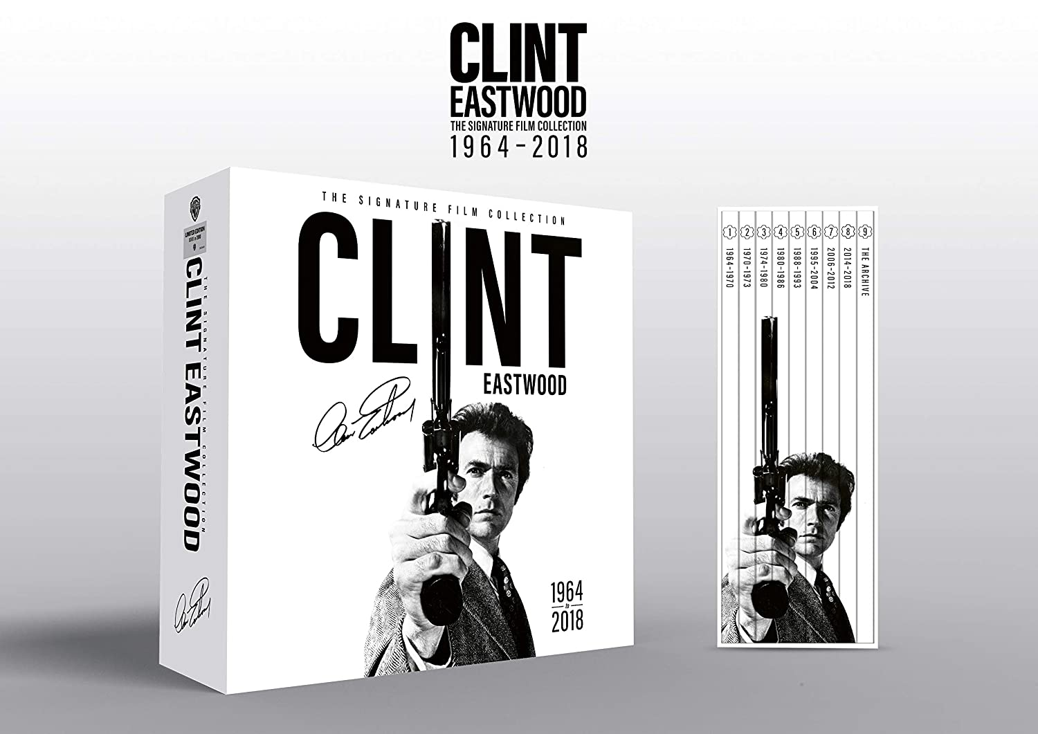 Clint Eastwood The Signature Film Collection 63 Blu-Ray Edizione ...