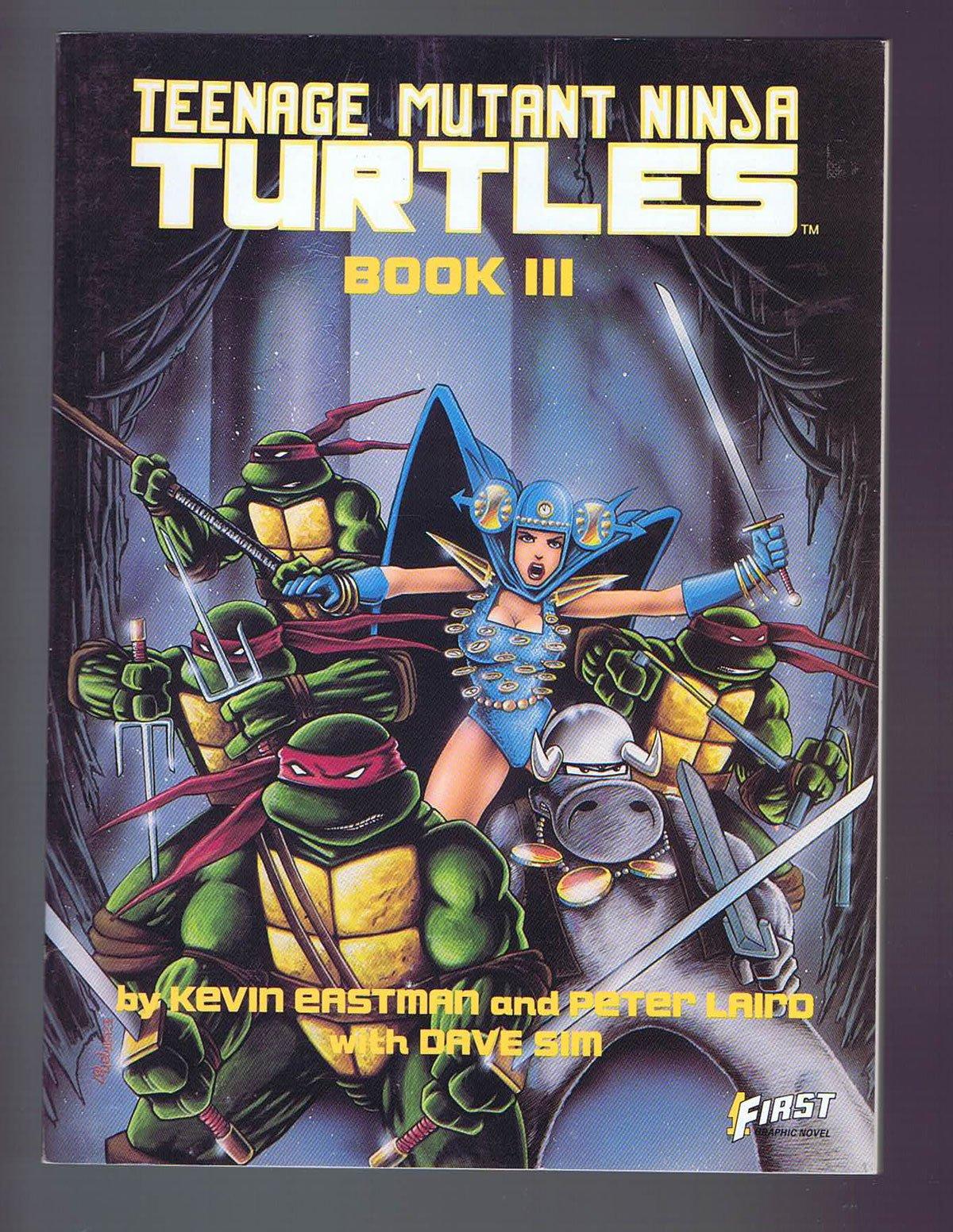 Teenage Mutant Ninja Turtles Book III Soft Cover 1st Edition ...