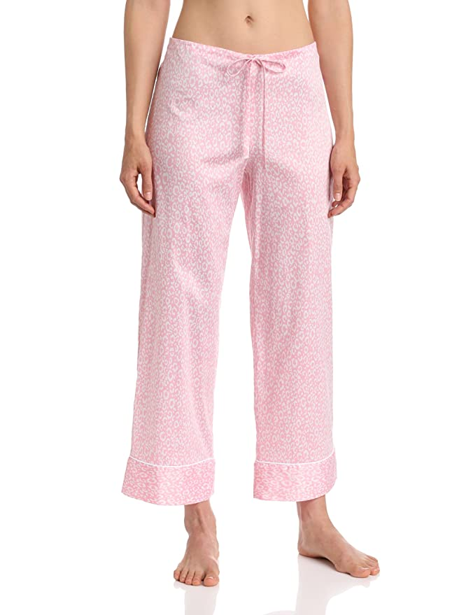 a2580d0bcb Natori Women s Cotton Sateen Leopard PJ Set at Amazon Women s Clothing  store  Natori Sleepwear