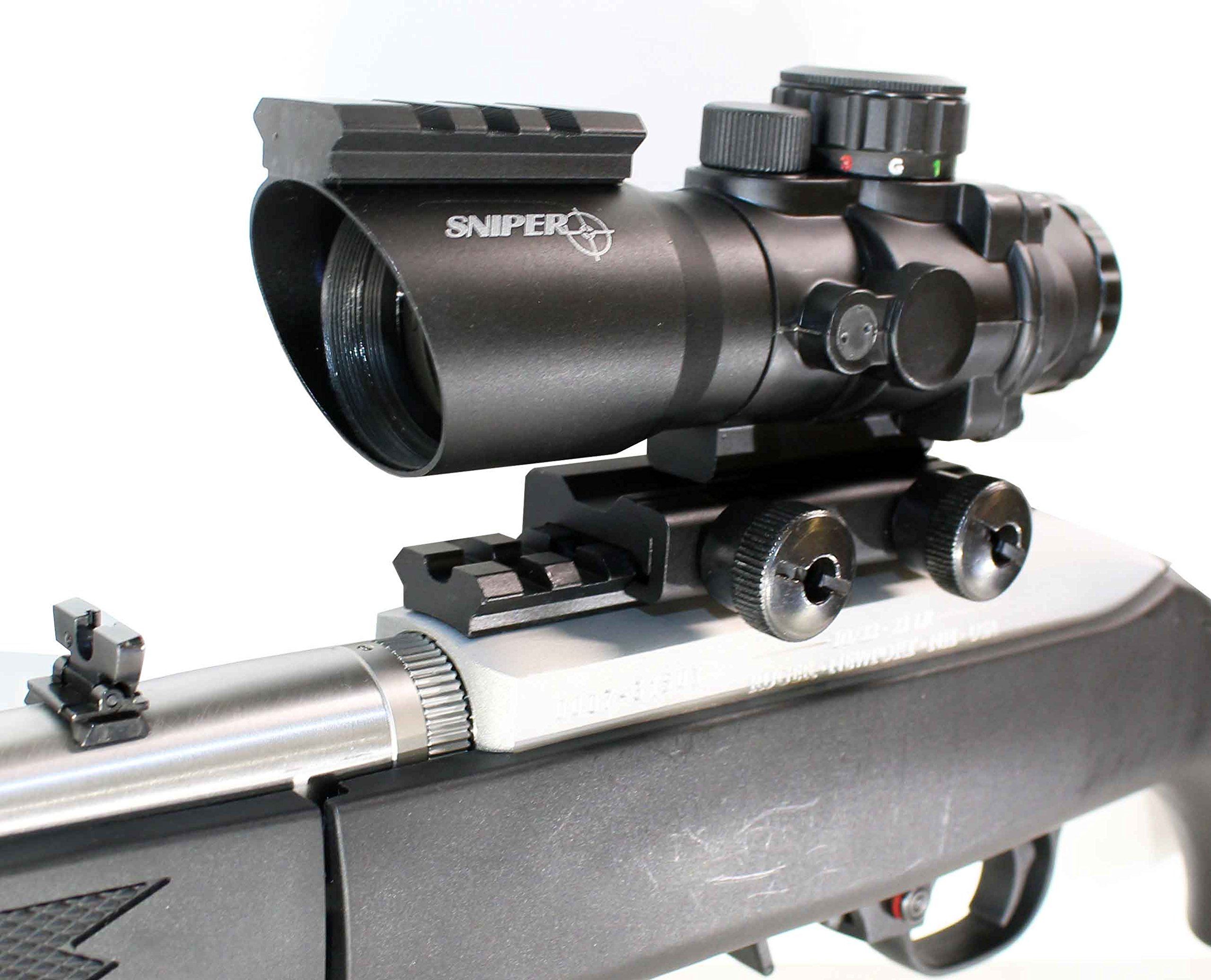 Trinity Ruger 10/22 Combo Sniper 4x32 Riflescope With 1022 Scope Mount And Rings NEW, single rail mount. by Trinity