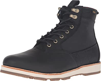 cad3c28dce Amazon.com | Vans Men's Fairbanks Boot (Nubuck/Plaid) Black All ...