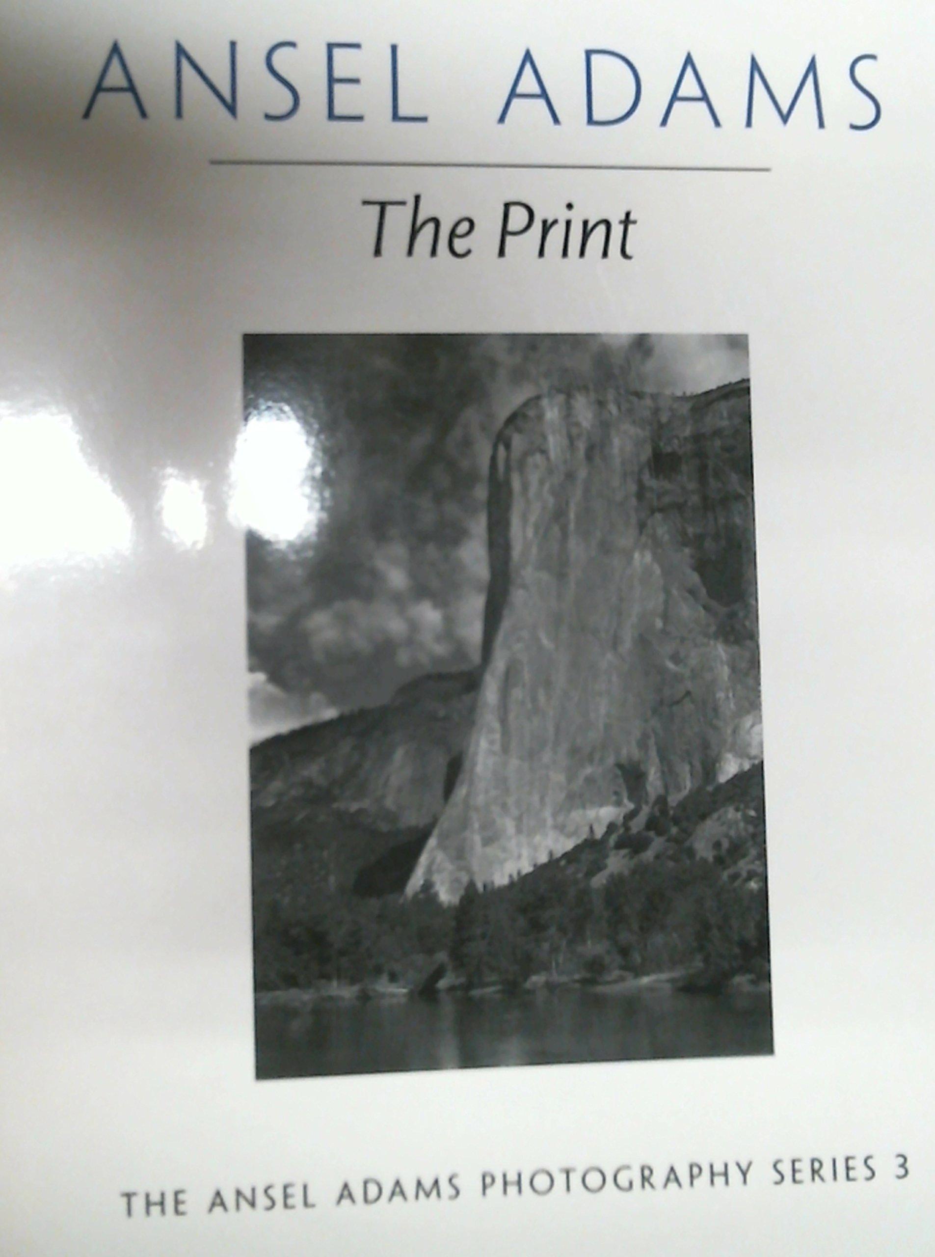 The Print Ansel Adams Robert Baker Books Amazon