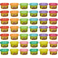 Play-Doh Handout 42-Pack of 1-Ounce Non-Toxic Modeling Compound for Kid Party Favors, Trick or Treat, Classroom Prizes…