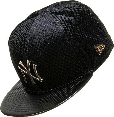 New Era Unisex Gorras / Gorra plana MLB Lux Mix NY Yankees: Amazon ...