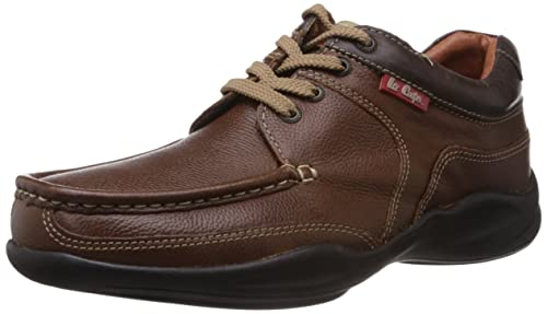 797fba47346a63 Lee Cooper Men s Leather Sneakers  Buy Online at Low Prices in India ...