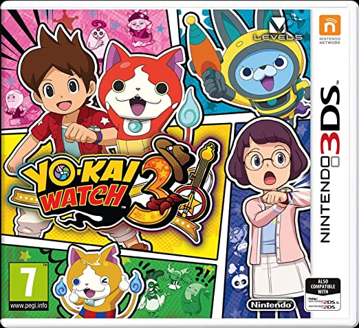 3DS Yo-Kai Watch 3 - Nintendo 3DS [Importación inglesa- jugable en ingles]: Amazon.es: Videojuegos