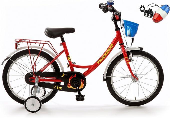 Bachmann tenkirch 18 pulgadas Bomberos Reflex – Bicicleta infantil ...
