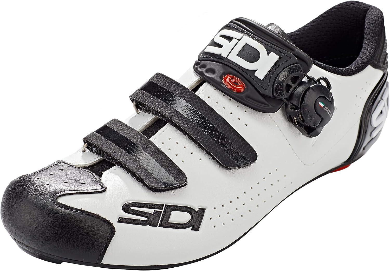 Sidi Alba 2 Schuhe Herren WhiteBlack Schuhgröße EU 48 2021 Rad Schuhe Radsport Schuhe