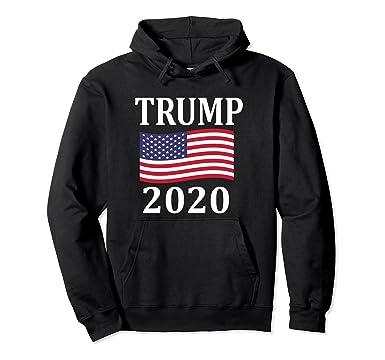 cf03aca34 Amazon.com: Trump 2020 Hoodie Pro Donald Trump Election: Clothing