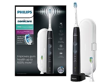 Philips 5100 series HX6850 10 cepillo eléctrico para dientes Adulto Cepillo  dental sónico Negro - 087409ca7fd8