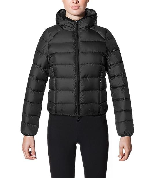 ECOALF ASPN Down Jacket Woman, Plumas para Mujer, Black 319, XS: Amazon.es: Ropa y accesorios