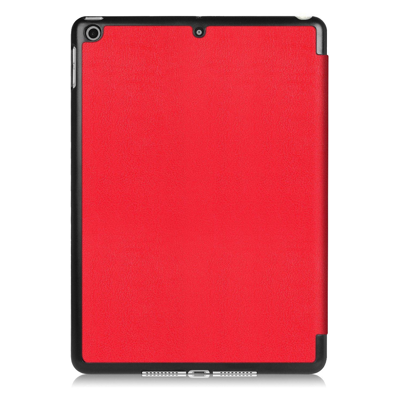 WiTa-Store Smart Cover Carcasa Apple iPad 2017/9,7/Carcasa Flip Case aufstellbare Funda Libro Designer Gratis Stylus Touch Pen Negro Don/´t Touch my Pad