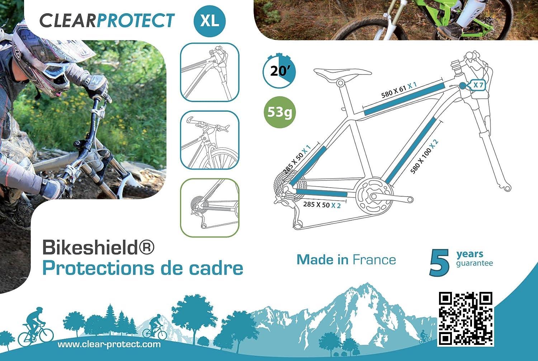 Clearprotect Protecciones para cuadro de bicicleta