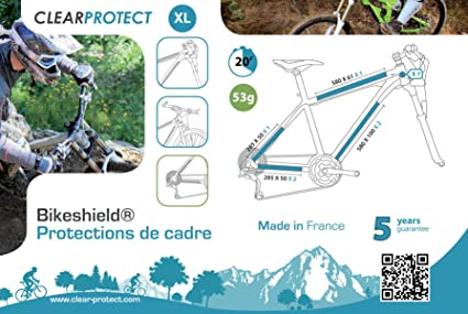 many styles fantastic savings another chance Clearprotect - Kit de protection de vélo: Amazon.fr: Sports ...