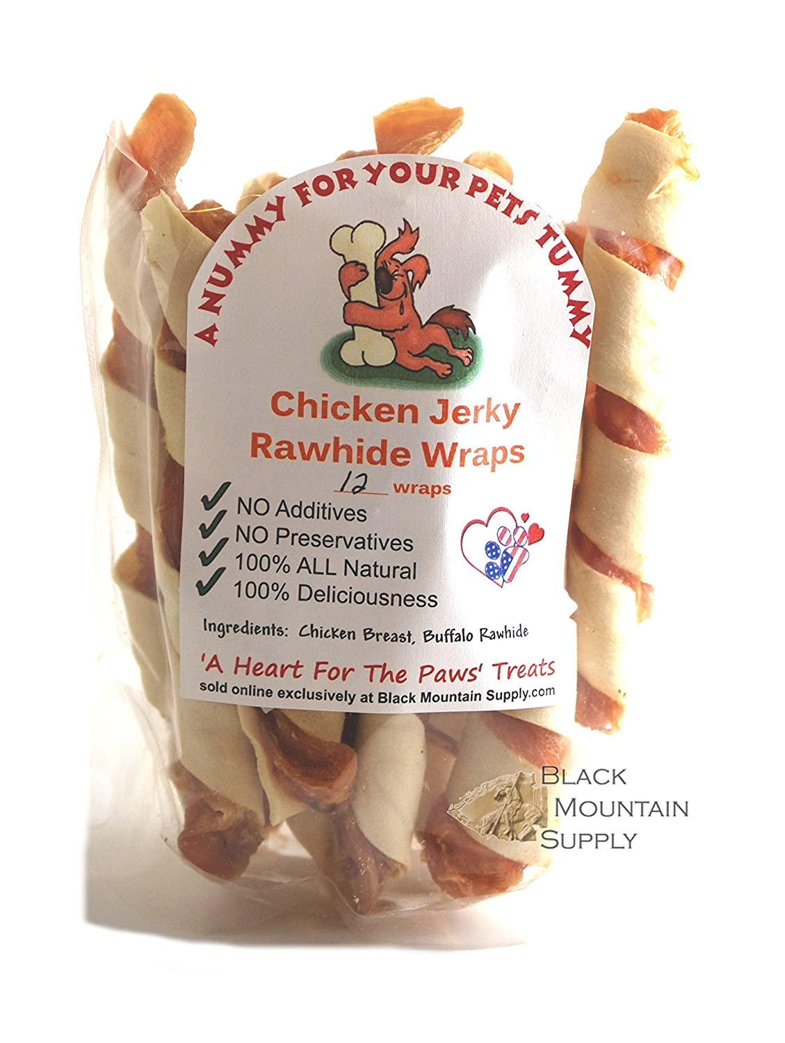 Rawhide Wrapped Chicken