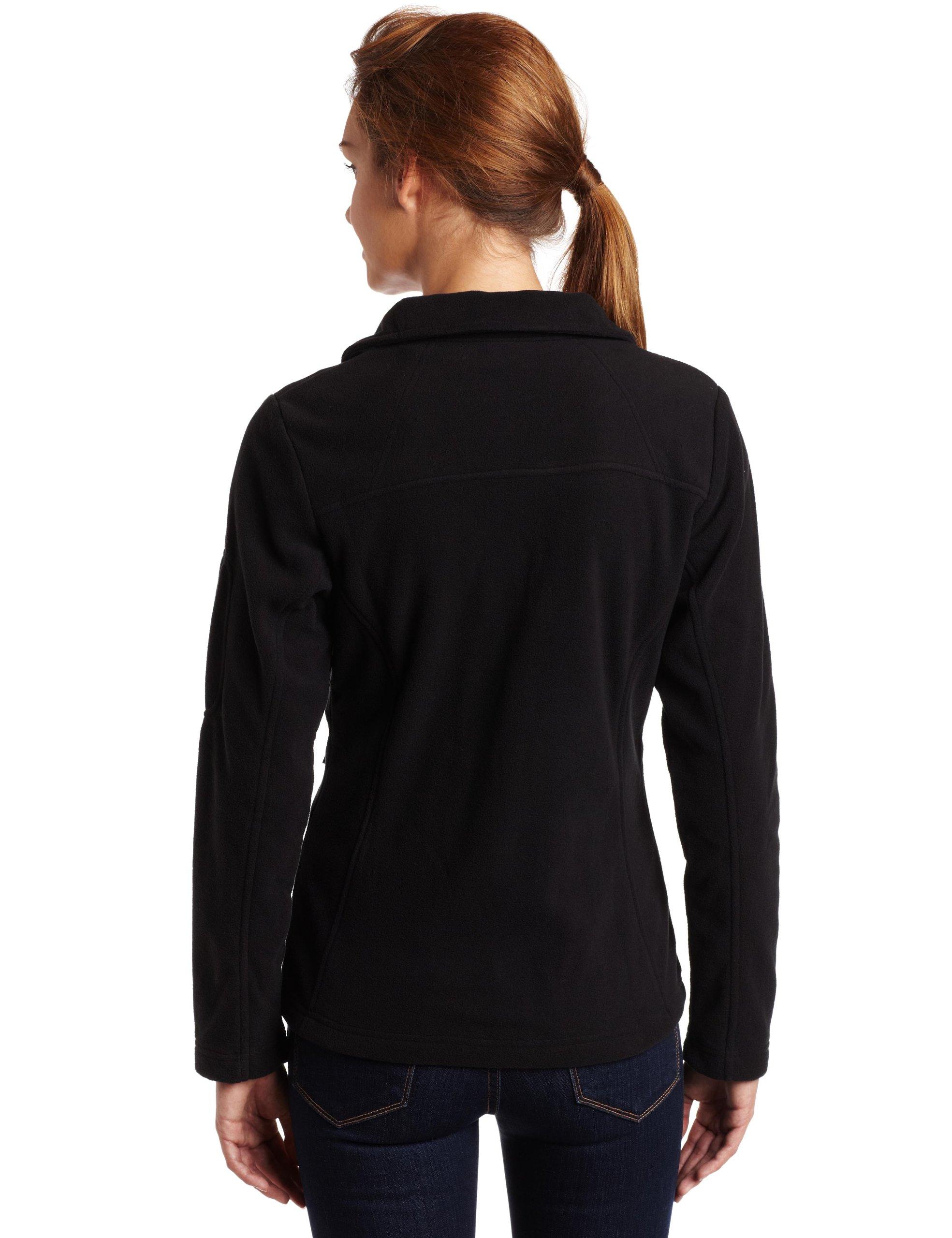 Columbia Women's Fast Trek Ii Full Zip Fleece Jacket Outerwear, black, XS by Columbia (Image #2)
