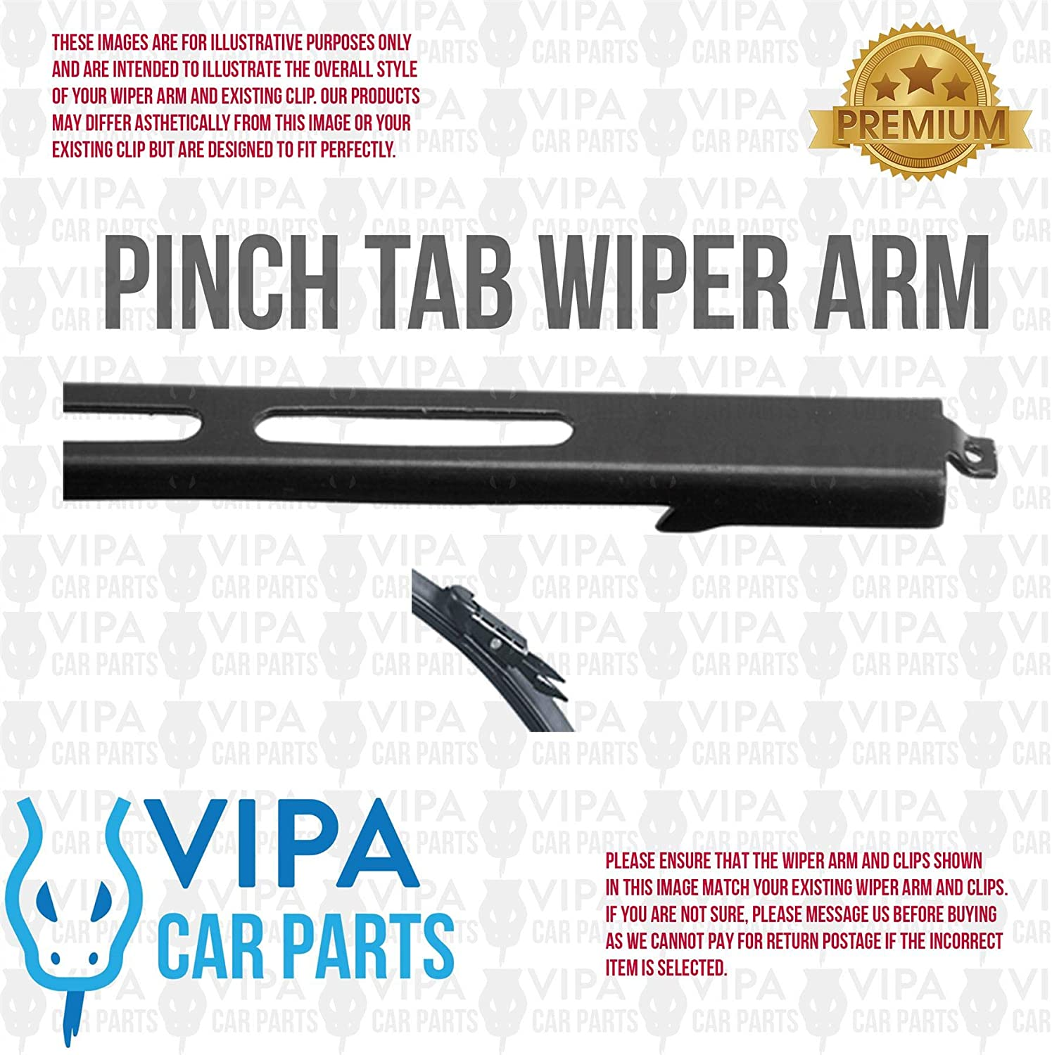 FORTWO Convertible Jan 2007 Onwards Windscreen Wiper Blade Kit 2 x Blades