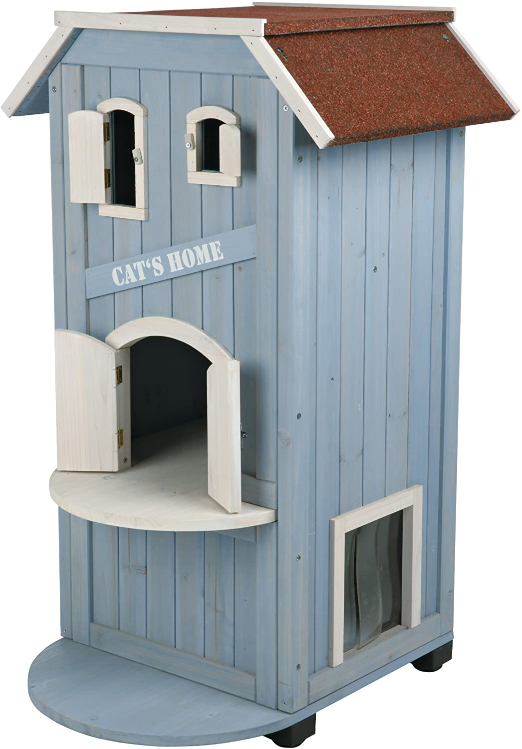 Trixie Pet Products 3 Story Cat S House Cat Houses And Condos Pet Supplies