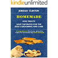 Homemade Dog Treats: Save The Bucks For The Dog's Grooming And Care: A comprehensive list of easy, gluten-free recipes for homemade dog treats and food