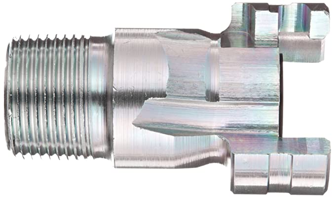 Plug 1//2 Coupling x 1 NPT Male 1//2 Coupling x 1 NPT Male Dixon Valve /& Coupling Dixon PM16 Plated Steel Dual Lock Quick Acting Air Hose Fitting