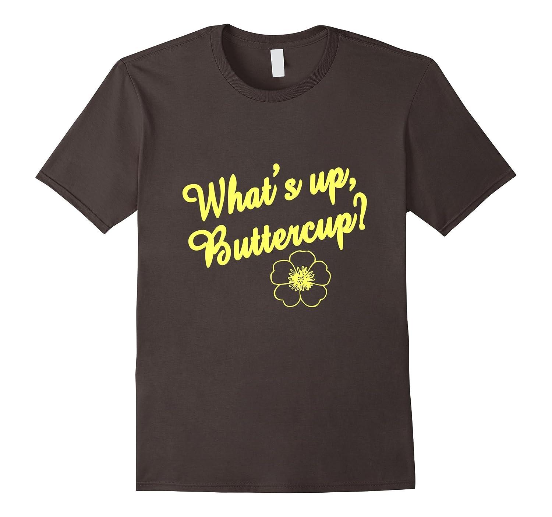Retro, What's Up Buttercup T Shirt, Happy, Positive, Flower