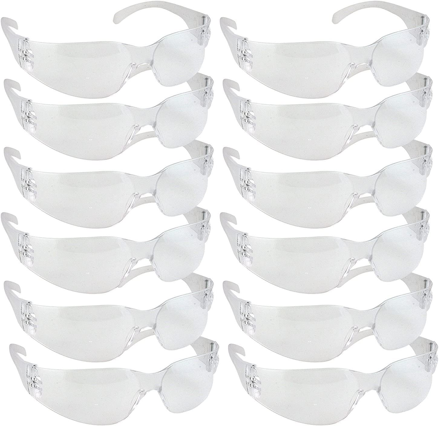 Safety1st - Gafas de seguridad, resistentes a los impactos, 12 unidades