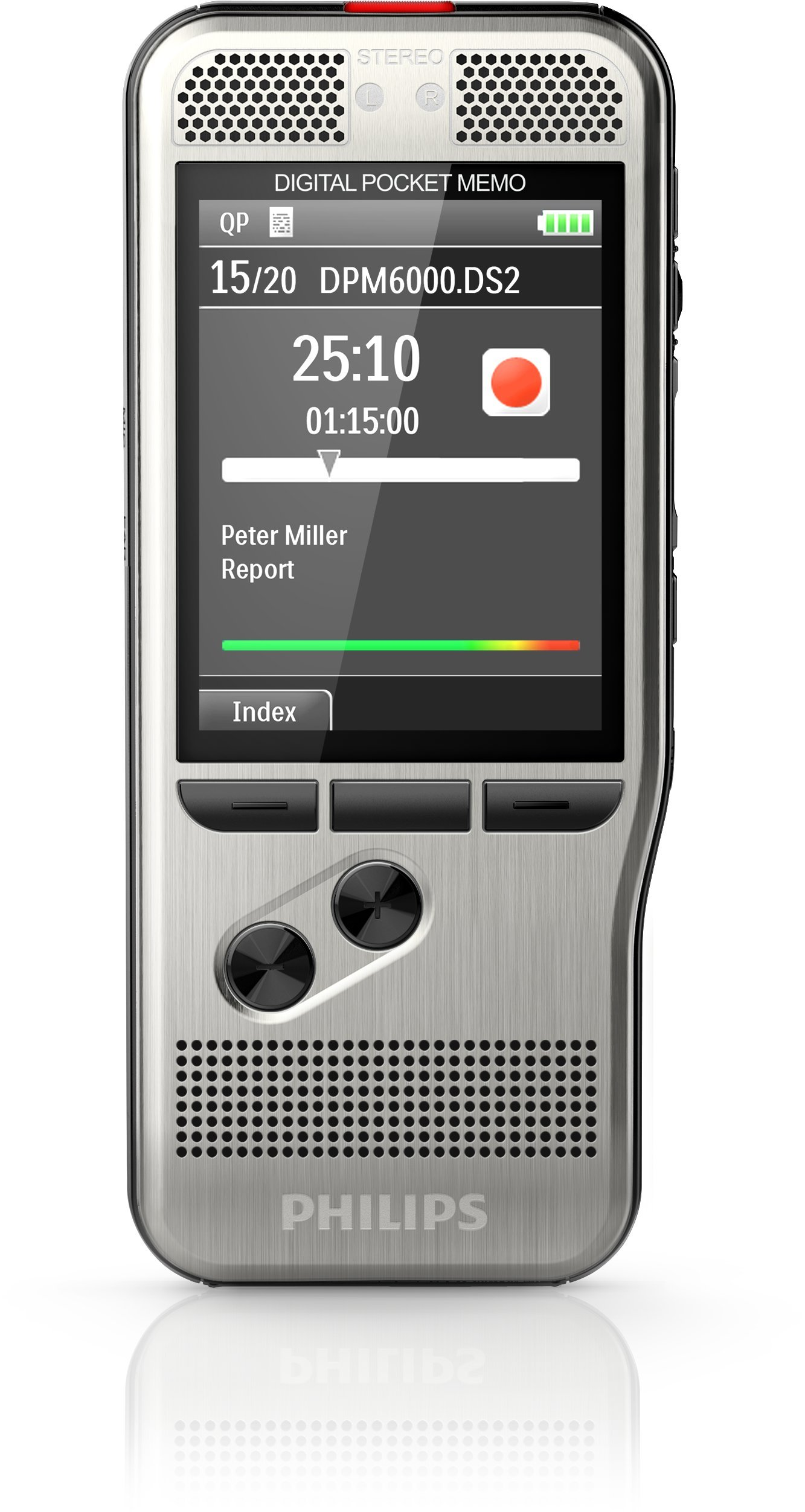 Philips Pocket Memo Voice Recorder DPM6000 by Philips