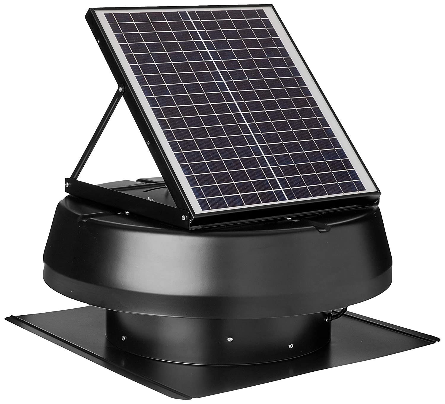 iLIVING HYBRID Ready Smart Exhaust Solar Roof Fan for barns