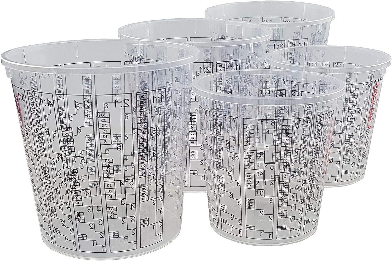 160 St/ück Epoxidharz-Mischbecher-Set R/ührbecher Tassen St/äbchen und Mischst/äbchen mit Handschuhen Tropfen und Pinzetten f/ür Epoxidharz aus Epoxidharz Pipette