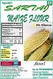 Sartaj Guten Free Maize Flour (Makki Atta, corn flour), 900gms