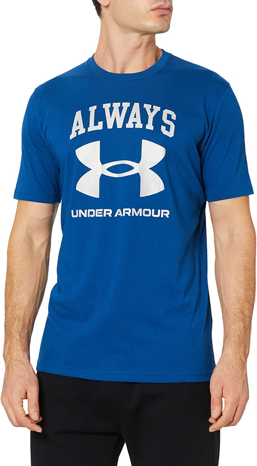Under Armour Always T-Shirt - AW20 - Small - Blue