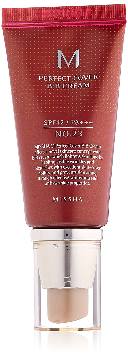 Missha M Perfect Cover BB Cream SPF42/PA +++ (No. 27 Honey Beige), 50 ml, Pack of 1 LH Brands Germany MSMS1052