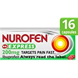 Nurofen Express Ibuprofen 200mg Liquid Capsules 16s
