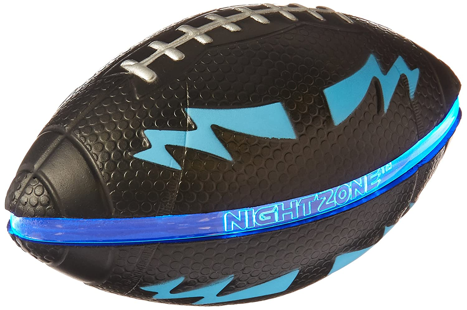Toysmith 56356 7 Night Zone Football Assorted Colors