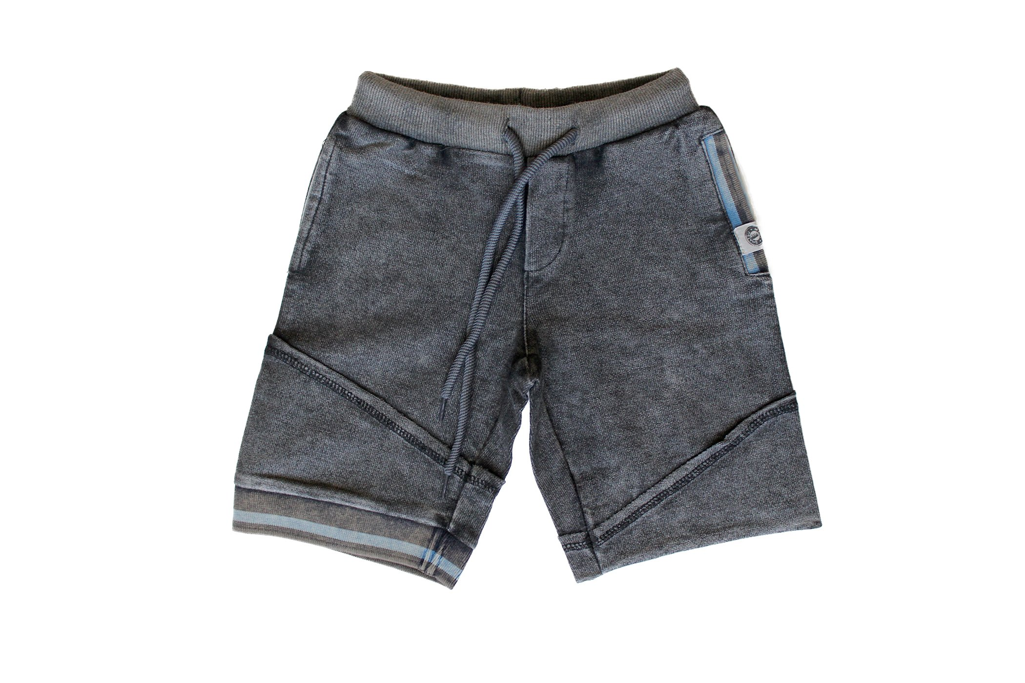 Mini Shatsu Big Boys' Sweat Shorts in Charcoal 8