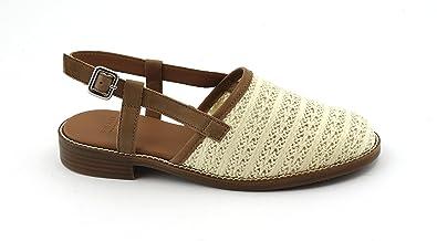 Sandales Sangle Avec Crme Bianco b4ofnXDE