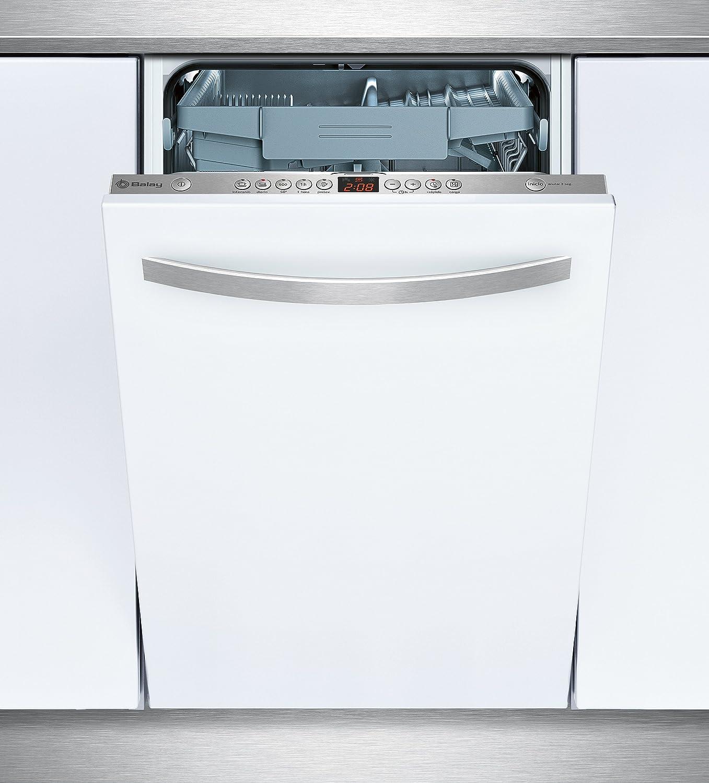 Balay 3VT532XA lavavajilla Totalmente integrado 10 cubiertos A+ - Lavavajillas (Totalmente integrado, Tamaño completo (60 cm), Acero inoxidable, Botones, 1,75 m, 1,65 m)