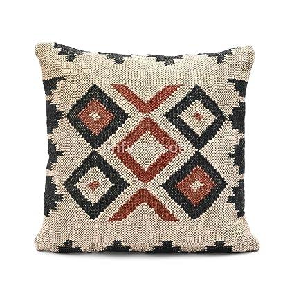 Amazon.com: iinfinize Indian Set of 2 Sofa Pillow Handwoven ...