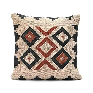Amazon.com: iinfinize Indian Set of 2 Sofa Pillow Handwoven ...