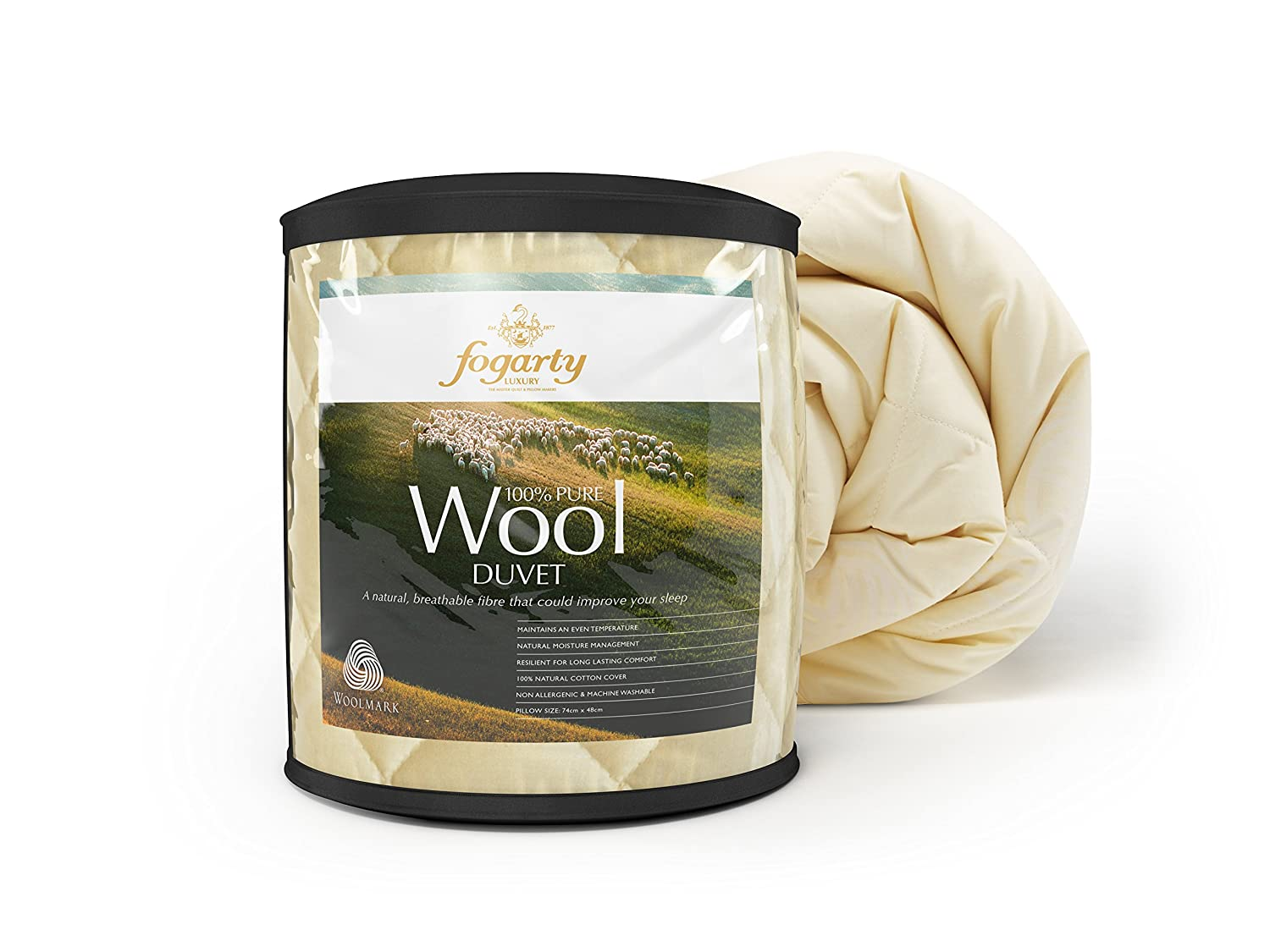 Amazon.com: Fogarty Pure Wool Duvet, Double by Fogarty: Paintings : fogarty quilts - Adamdwight.com