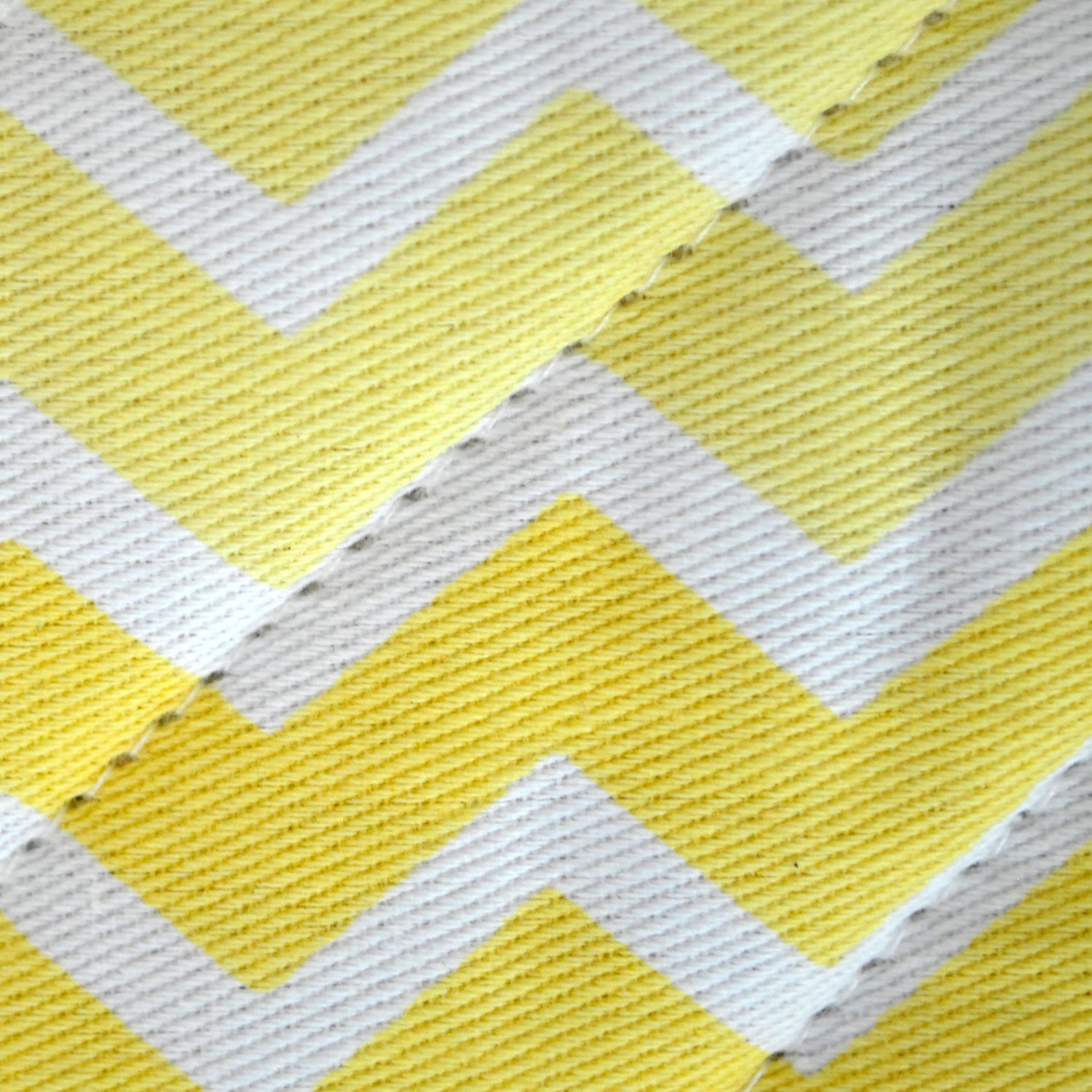 DII Chevron Washable Resistant Baking Yellow Image 2