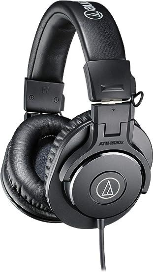 Amazon.com: Audio-Technica ATH-M30x Audífonos profesionales de ...