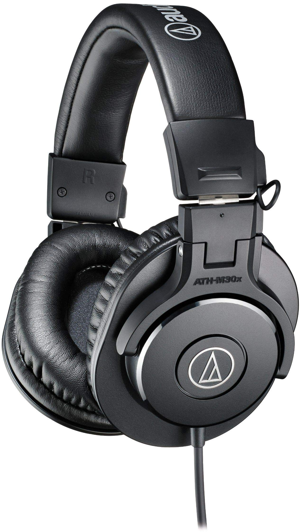 Audio-Technica ATH-M30x Professional Studio Monitor Headphones, Black by Audio-Technica
