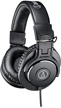 side facing audio-technica ath-m30x