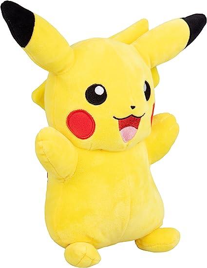 Amazon Com Pokemon Plush Large 12 Inch Plush Pikachu Toys Games